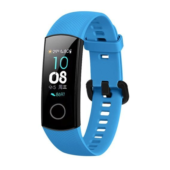 Pasek Silikonowy do Huawei Honor Band 5 - Blue