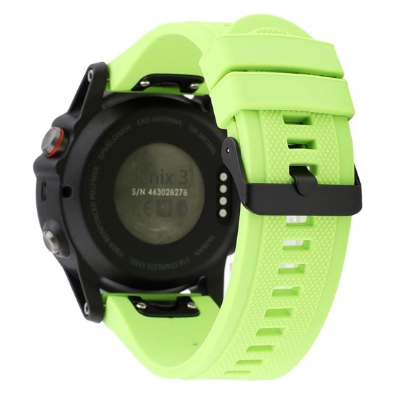 Pasek Smooth do Garmin Fenix 5/6/6 Pro / Forerunner 935/945 - Green