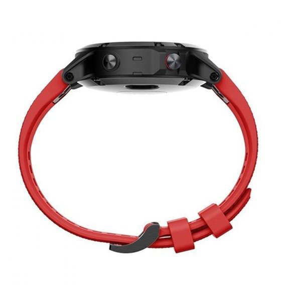 Pasek Smooth do Garmin Fenix 5/6/6 Pro / Forerunner 935/945 - Wine Red