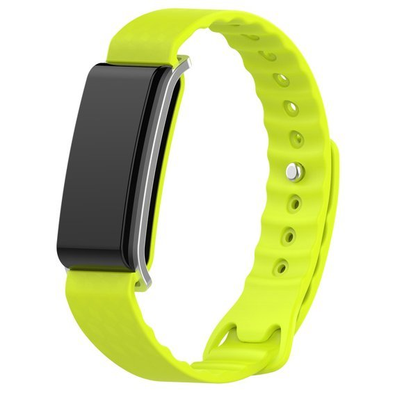 Pasek Smooth do Huawei Band A2 - Lime