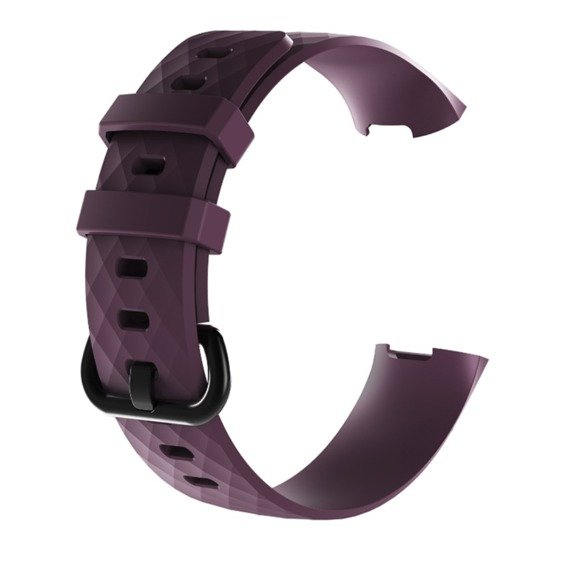 Pasek Softband Flexi do Fitbit Charge 3 - Purple