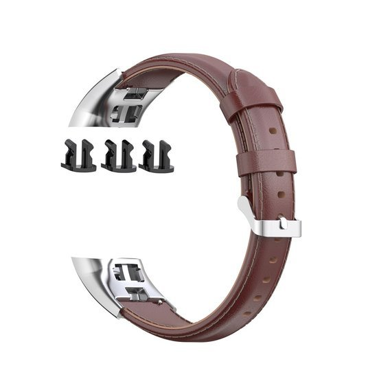 Pasek Wax Leather Band do Huawei Honor 5 / Honor 4 - Brown