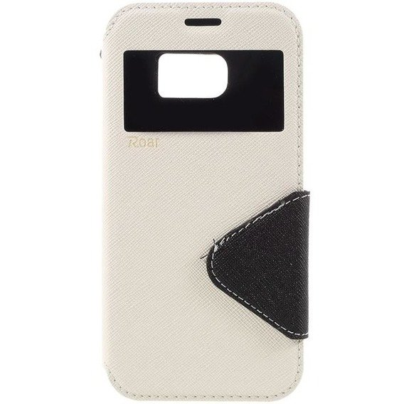 ROAR KOREA Etui Diary View Case Samsung Galaxy S7 G930 - White