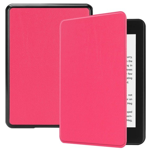 Różowe Etui Book Case Amazon Kindle Paperwhite 4 2018