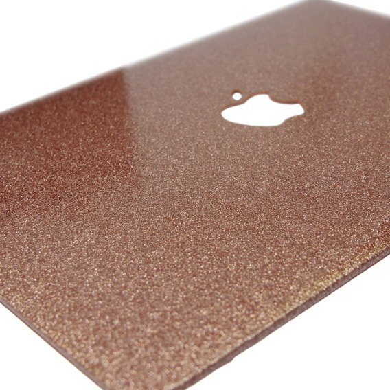 Różowe Etui Glittery ToughShell Macbook Air 13.3 A1369 A1466