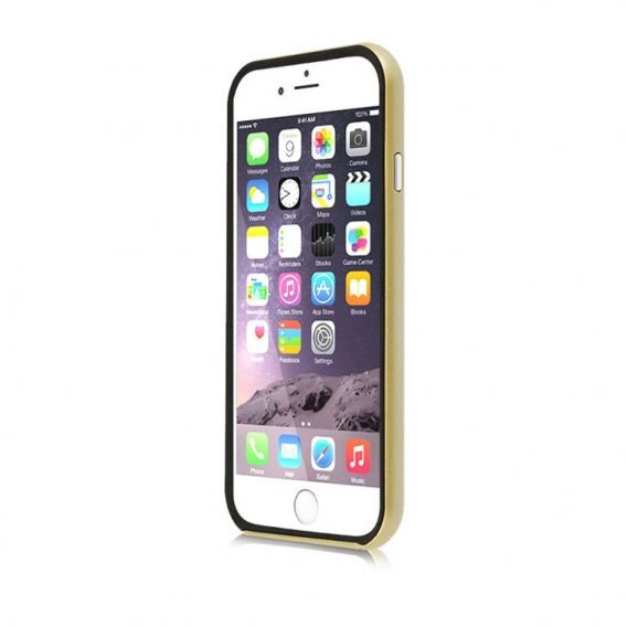 SHTL Etui BUMPER SHELL iPhone 6/6S 4.7 - Gold