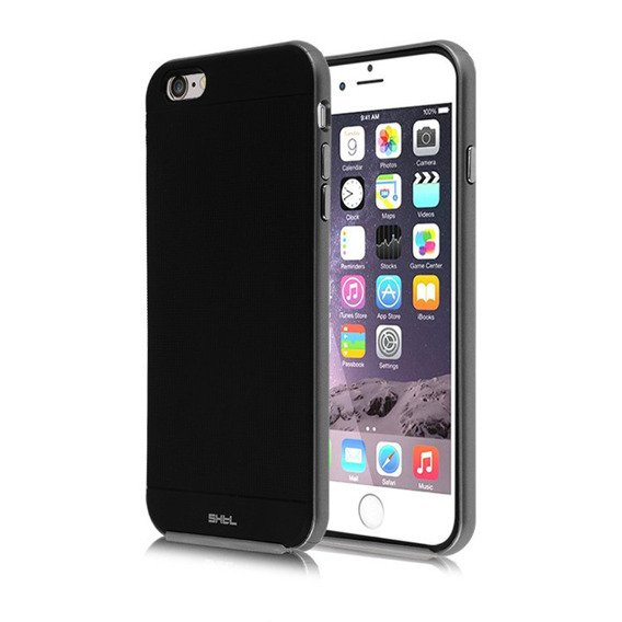 SHTL Etui Bumper Shell iPhone 6/6S Plus 5.5 - Grey