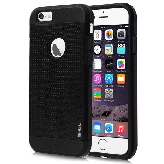 SHTL Etui Dotted Armor iPhone 6 4.7 - Coal Black