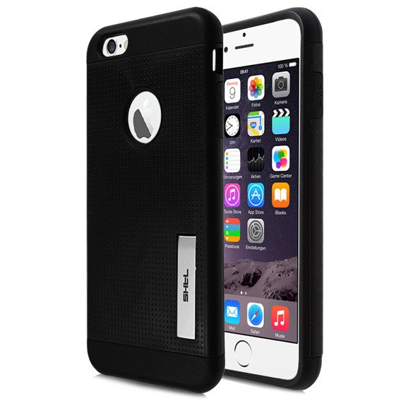 SHTL Etui Dotted Stand Armor iPhone 6 PLUS 5.5 - Coal Black