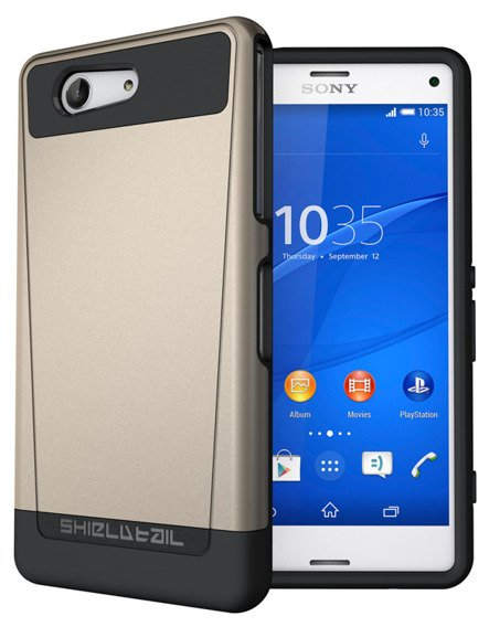 SHTL Etui Dual Shell Sony Xperia Z3 Compact - Gold