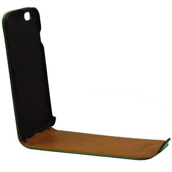 SHTL Etui Genuine Leather Flip Case iPhone 6/6s 4.7 - Green