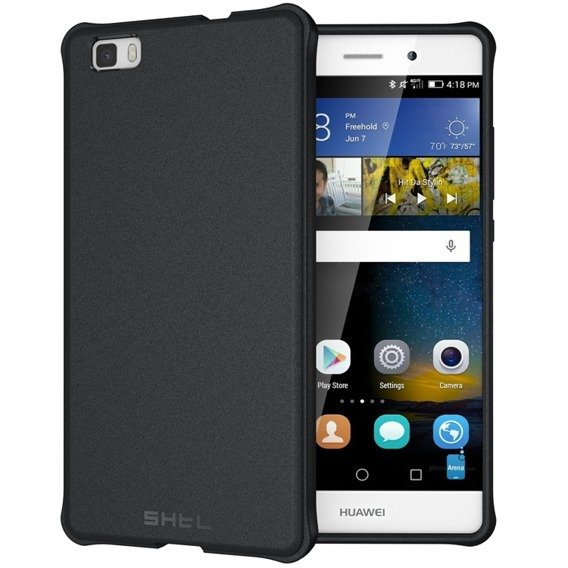SHTL Etui Smooth Case Huawei P8 Lite - Black