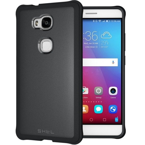 SHTL Etui Strong Edges Smooth Case Huawei Honor 5X - Black