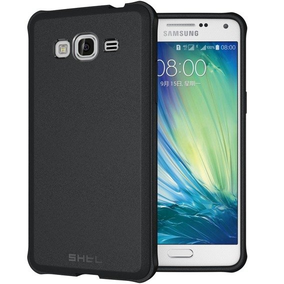SHTL Etui Strong Edges Smooth Case Samsung Galaxy Grand Prime G530 - Black