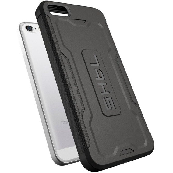 SHTL® Etui Armor TPU Case iPhone 5S/SE - Charcoal Grey