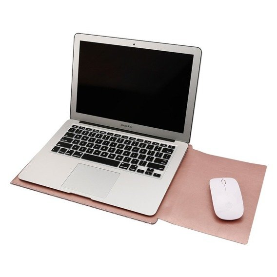 SOYAN Etui Pouch do MACBOOK AIR/PRO 13 - Rose Gold