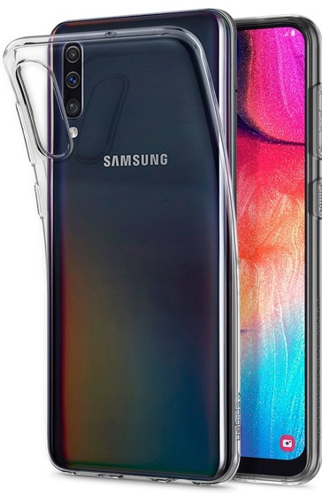 SPIGEN Etui Liquid Crystal Samsung Galaxy A50 / A30s - Crystal Clear