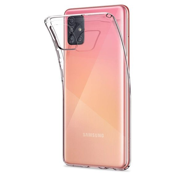 SPIGEN Etui Liquid Crystal Samsung Galaxy A51 - Crystal Clear