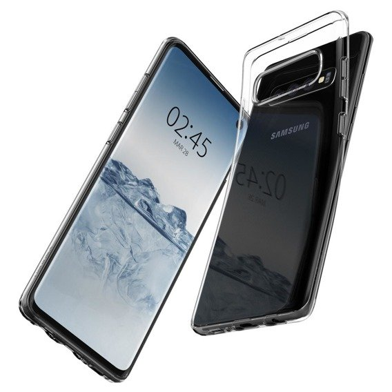 SPIGEN Etui Liquid Crystal do Samsung Galaxy S10 - Crystal Clear
