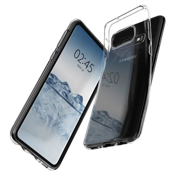 SPIGEN Etui Liquid Crystal do Samsung Galaxy S10E - Crystal Clear