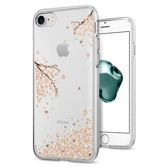 SPIGEN Etui Liquid Crystal do iPhone 7/8/SE 2020 - Blossom