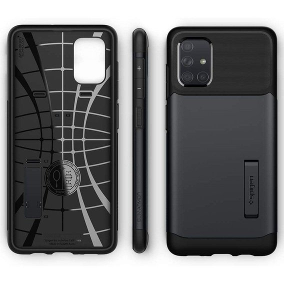 SPIGEN Etui Slim Armor do Samsung Galaxy A51 - Metal Slate