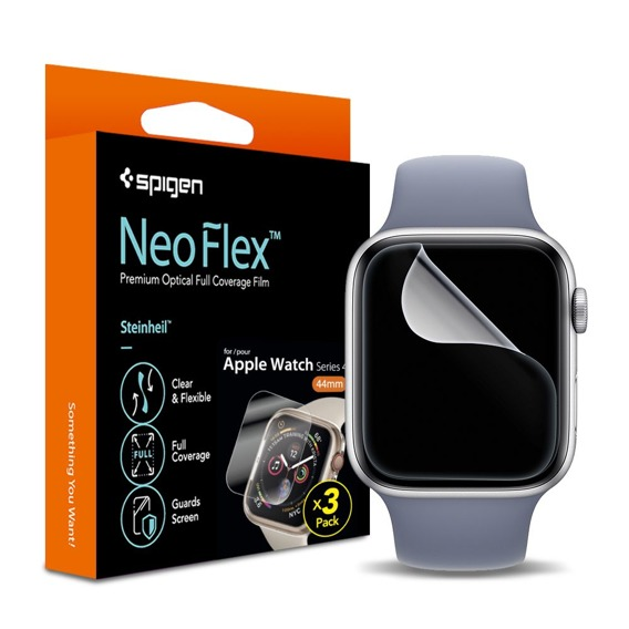 SPIGEN Folia Ochronna Neo Flex HD do Apple Watch 4 40MM (3 sztuki)