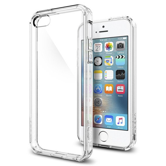 SPIGEN SGP Etui Ultra Hybrid Apple iPhone 5/5S/SE - Crystal Clear