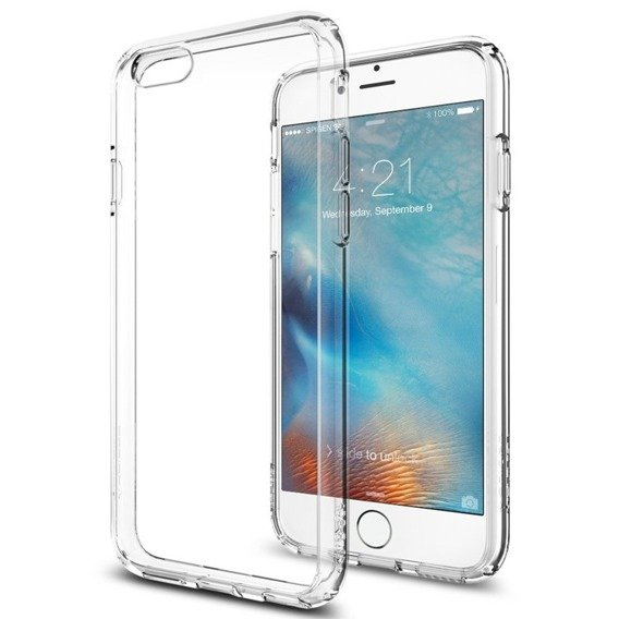 SPIGEN SGP Etui Ultra Hybrid Apple iPhone 6/6S 4.7 - Crystal Clear