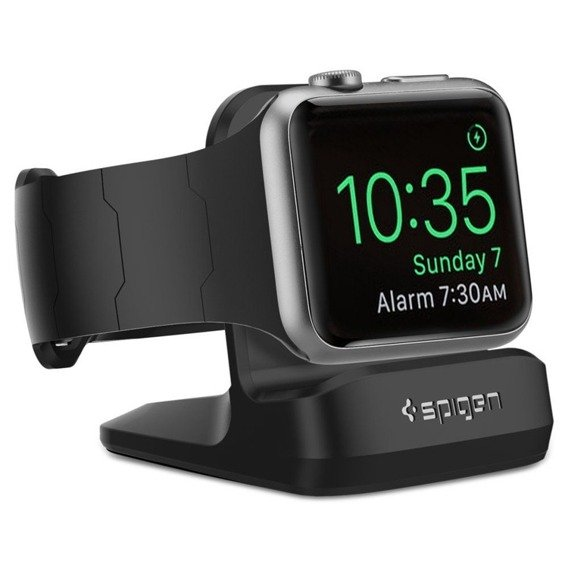 SPIGEN SGP S350 Night Stand Apple Watch 1/2/3/4 - Black