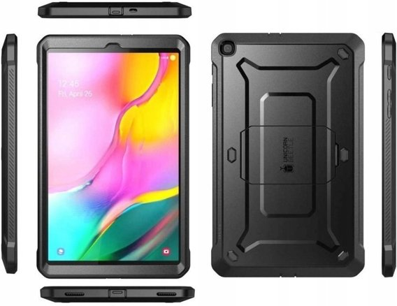 SUPCASE Etui do Samsung Galaxy Tab A 10.1 2019 - Unicorn Beetle Pro - Black