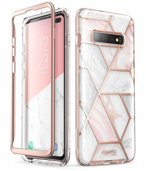 SUPCASE Pancerne Etui Cosmo Samsung Galaxy S10+ Plus - Marble