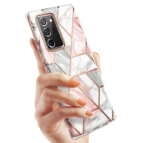 SUPCASE Pancerne Etui do Samsung Galaxy Note 20 Ultra - Cosmo - Marble