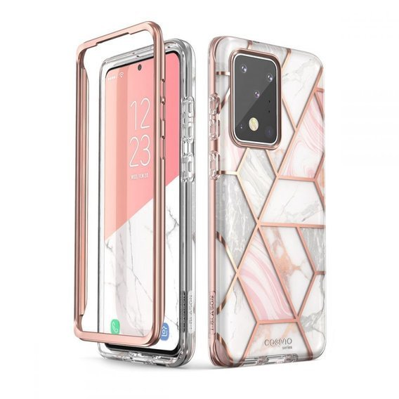 SUPCASE Pancerne Etui do Samsung Galaxy S20 Ultra - Cosmo - Marble