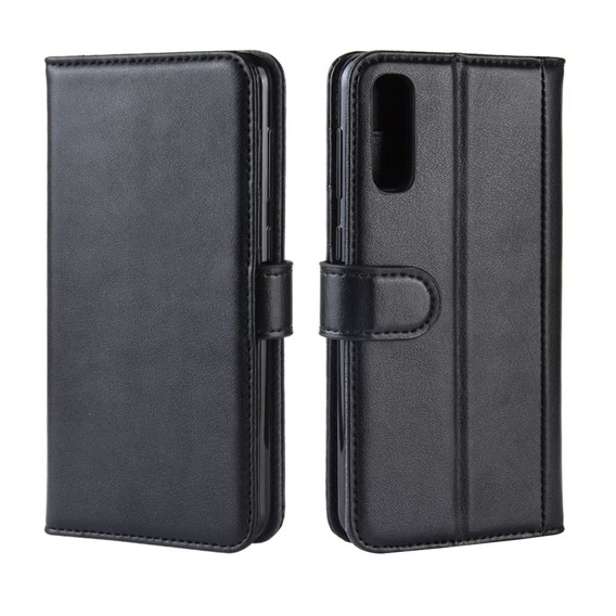 Skórzane Etui Flexi Book do Samsung Galaxy A50 / A30s  - Black