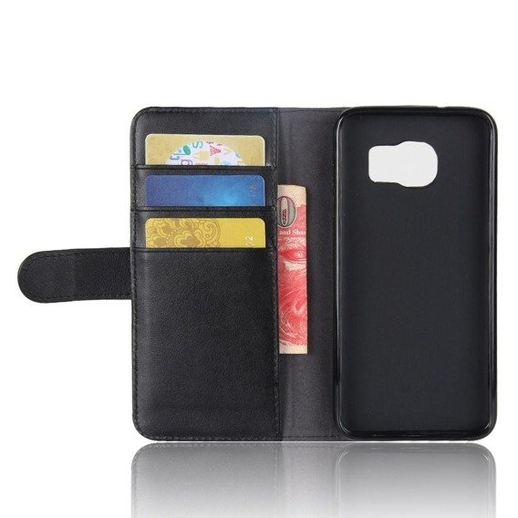 Skórzane Etui Flexi Book do Samsung Galaxy S7 - Black