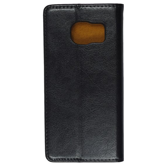 Skórzane Etui Leather Flexi Book Samsung Galaxy S7 Edge - Black