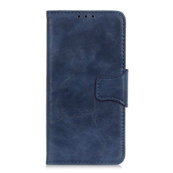Skórzane Etui Wallet Flexi Book do Huawei P40 Lite E - Blue