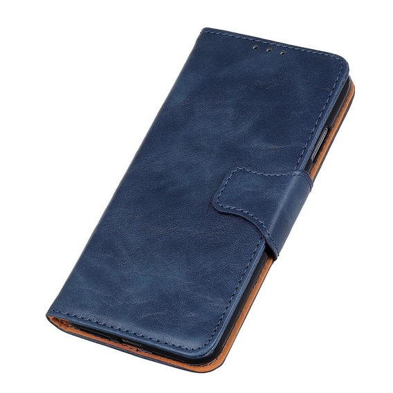 Skórzane Etui Wallet Flexi Book do Samsung Galaxy A50 / A30s  - Blue