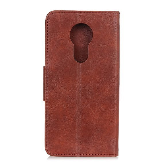Skórzane Etui Wallet do Nokia 5.3 - Brown