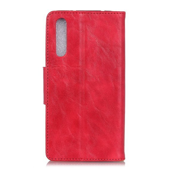 Skórzane Etui Wallet  do Xiaomi Mi 9 Lite - Red