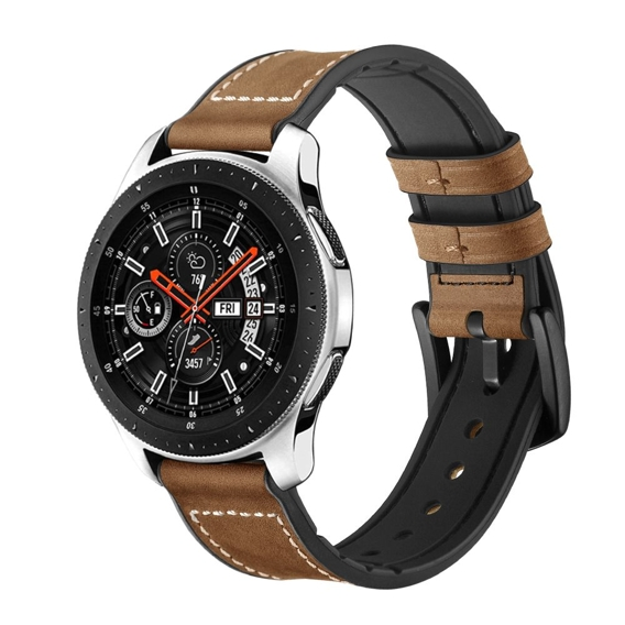 Skórzany Pasek Osoband do Samsung Galaxy Watch 46mm - Vintage Brown