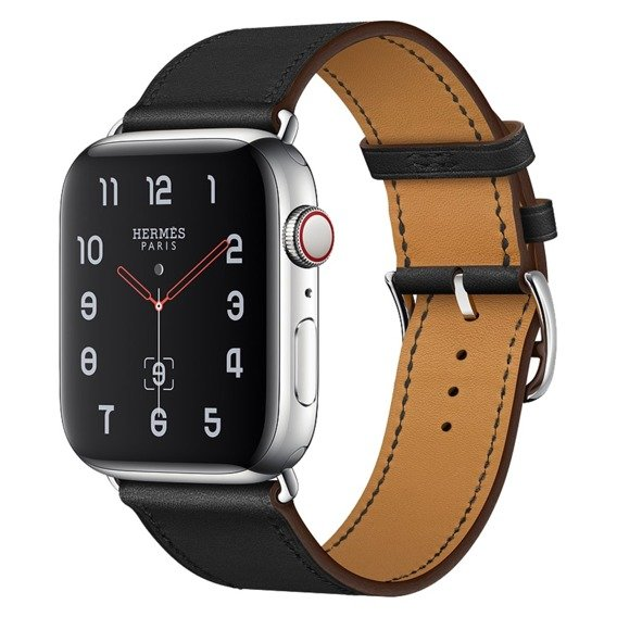 Skórzany Pasek do Apple Watch 1/2/3/4 (42/44MM) - Black