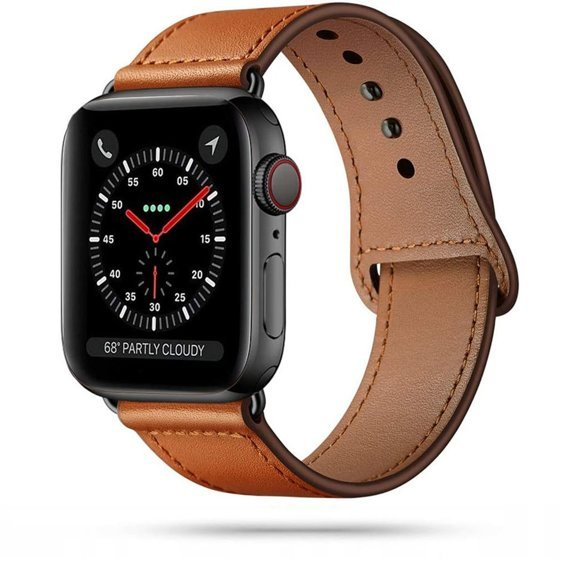Skórzany Pasek do Apple Watch 1/2/3/4/5 (42/44MM) - Brown
