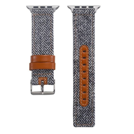 Skórzany Pasek do Apple Watch 1/2/3/4/5 (42/44MM) - Wzór 016