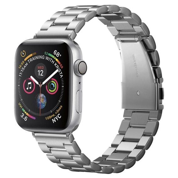 Spigen Bransoleta Modern Fit Band do Apple Watch 1/2/3/4/5 (38/40MM) - Silver