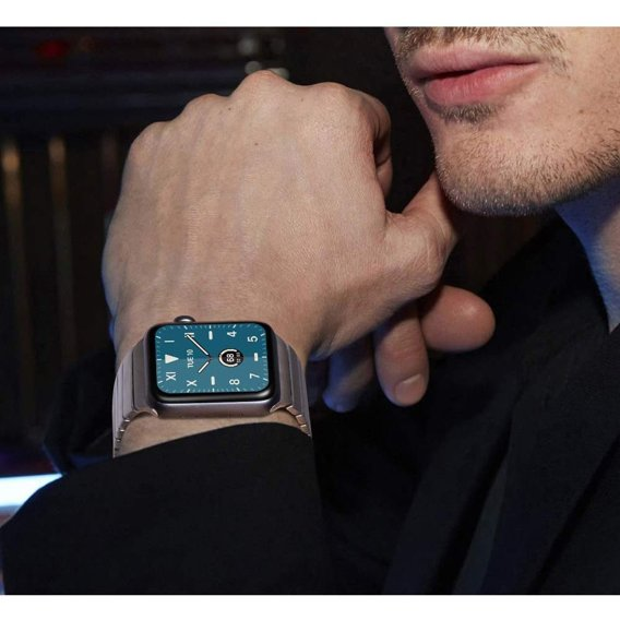 Srebrna Bransoletka/Pasek LinkBand do Apple Watch 1/2/3 42mm