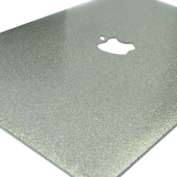 Srebrne Etui Glittery ToughShell Macbook Air 13.3 A1369 A1466