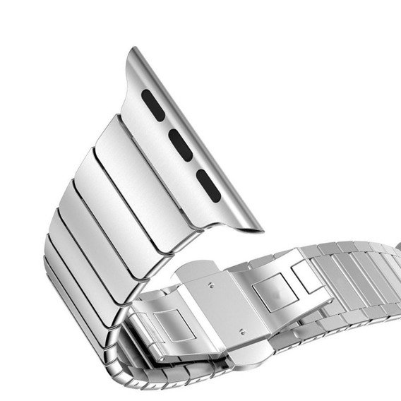 Steel Segments Strap Bransoletka/Pasek do Apple Watch 1/2/3/4 (42/44MM) - Silver