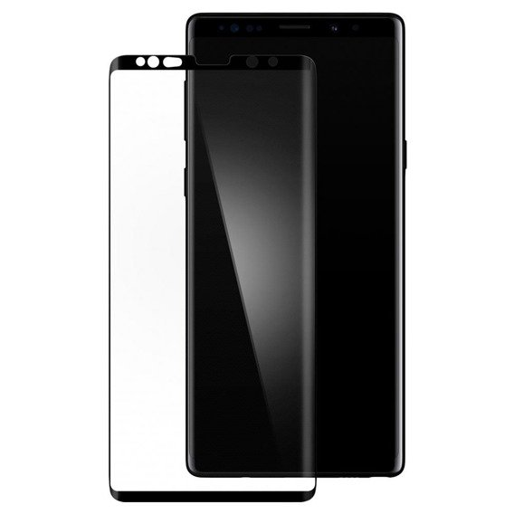 Szkło Hartowane SPIGEN Glass.TR Case Friendly Samsung Note 9 - Black